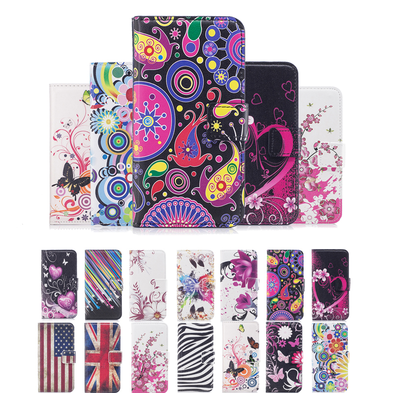 Fashion Leather Flip Cover Wallet <font><b>Case</b></font> For <font><b>Motorola</b></font> <font><b>Moto</b></font> G G2 G3 XT1541 G4 E <font><b>E2</b></font> X X2 G5 G4 Play XT1672 Card Holder Phone Coque image