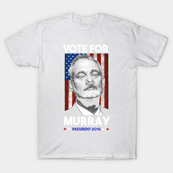 2017 berserk tees homme clothing bill murray for president casual cotton short o neck mens t.jpg 250x250