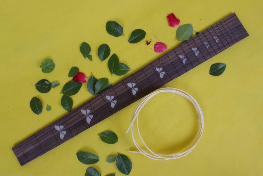 Guitar Accessories  1 x  25.5electric   Guitar Fretboard electric guitar rose  Wood Fretboard Parts 00-11 # inlay guitar accessories 1 pcs x 25 5electric guitar fretboard electric guitar rose wood fretboard parts 00 019 inlay