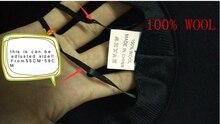100% Wool Wide Brim Floppy Felt Trilby
