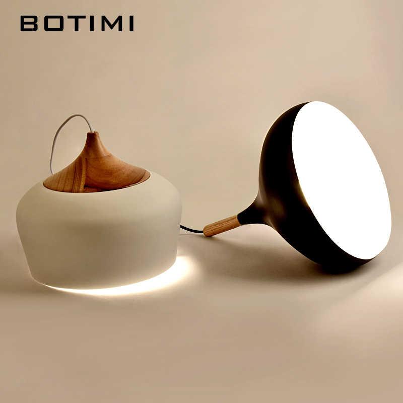 BOTIMI подвеска с простым дизайном светильники для столовой кухни Lampadario винтажный металлический подвесной светильник, ресторан светильник фонарик приспособление