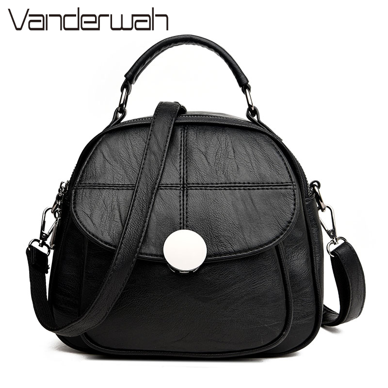 VANDERWAH Women Bag Designer Handbags High Quality Pu leather Messenger Bags Ladies Hand Bag Famous Brands Clutch bolsos mujer famous brands handmade women shoulder bags fashion high quality designer black leather handbags ladies knitting messenger bag b