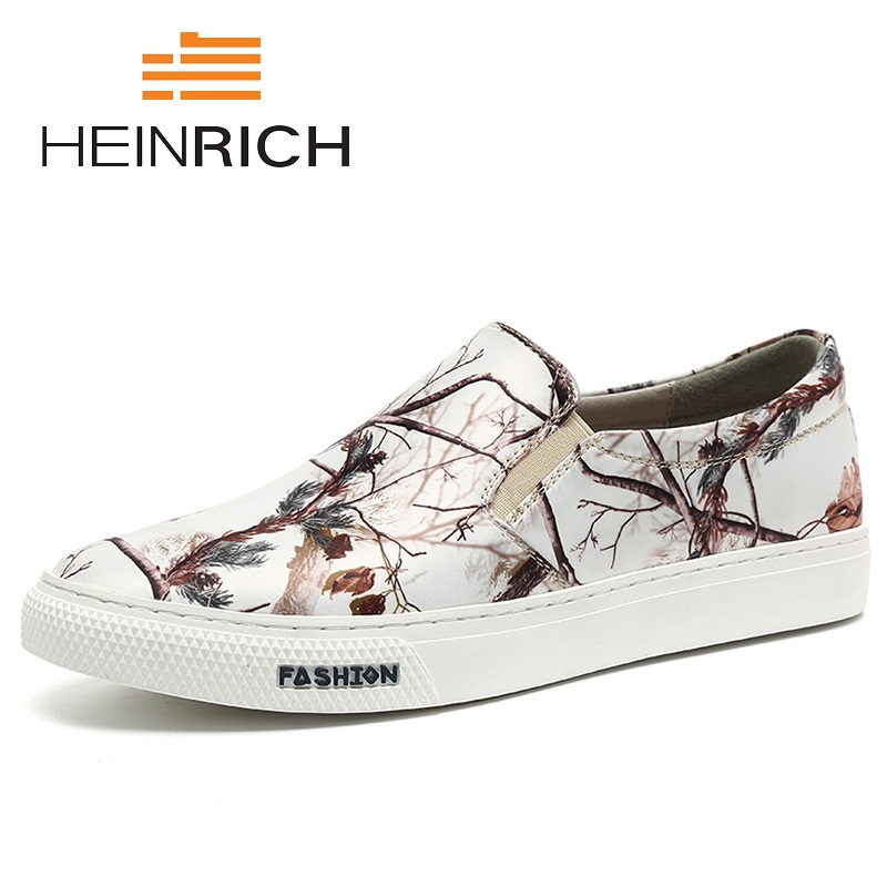 HEINRICH New Brand Fashion Summer Style Soft Men Peas Tide Casual Shoes Gentleman Mixed Colors Flats Shoes Heren SchoenenHEINRICH New Brand Fashion Summer Style Soft Men Peas Tide Casual Shoes Gentleman Mixed Colors Flats Shoes Heren Schoenen