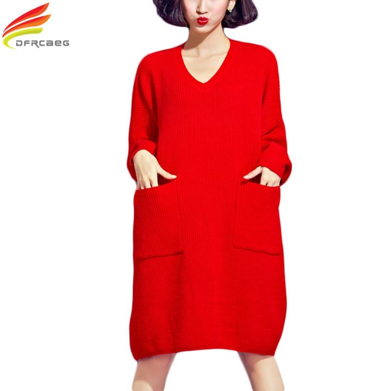Plus Size Oversized Sweater Women 2017 Autumn Elegant Sweater ...