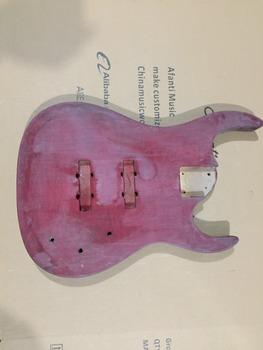 DIY gitara elektryczna DIY gitara elektryczna korpus Afanti music (ADK-731) tanie i dobre opinie Beginner Unisex Do profesjonalnych wykonań Nauka w domu Blokowany klucz LIPA none Electric guitar Body