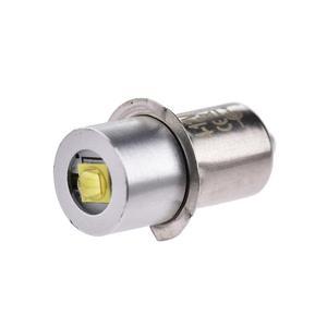 Image 5 - 3W אלומיניום סגסוגת פנס LED הנורה חיסכון באנרגיה P13.5S לבן אור 3V/4 12V