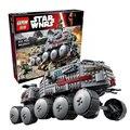 933 Unids LEPIN 05031 Star Wars Clone Turbo Tanque 75151 Edificio bloques Compatibles con 75151 STAR WARS Juguete 05031 Niños Juguetes regalo