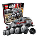 933Pcs LEPIN 05031 Star Wars Clone Turbo Tank 75151 Building Blocks Compatible with 75151  STAR WARS Toy 05031 Boys Toys  Gift