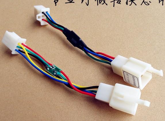 motor controller phase angle exchange connector4