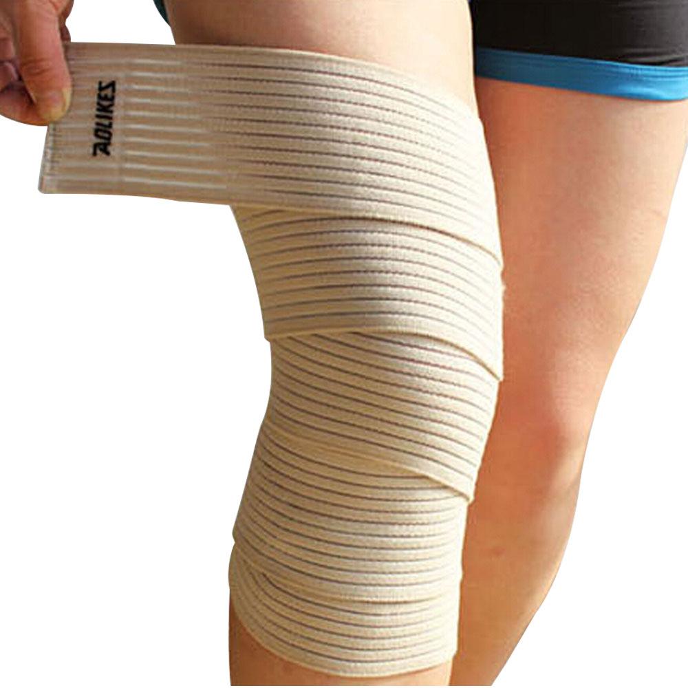 ALBREDA 90х7,5 см эластичная повязка, спортивный наколенник для поддержки колена, кинезиологическая защита для лодыжки joelheira, повязка на запястье