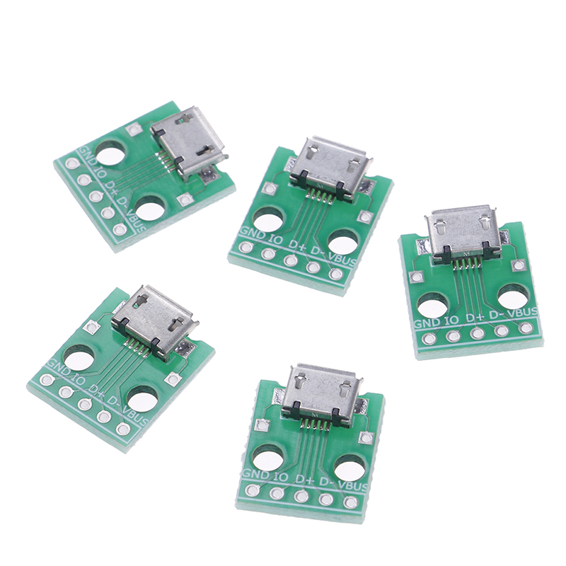 NEW Hot Sale 5pin Female Connector MICRO USB To DIP Adapter B Type Pcb Converter Pinboard 2.54NEW Hot Sale 5pin Female Connector MICRO USB To DIP Adapter B Type Pcb Converter Pinboard 2.54