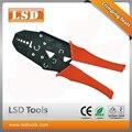 LS-06 RG58 обжимной инструмент для коаксиального кабеля разъем обжимной плоскогубцы волоконно-оптический обжимной инструмент ручной зажим