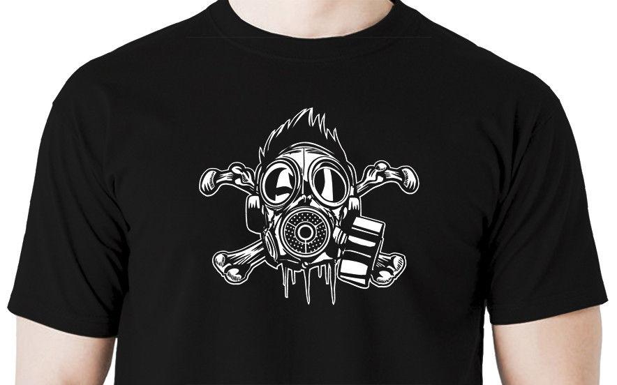 T-shirts Tops & Tees Metro Exodus T-shirt Unisex Gas Mask Toxic Games Tees Gaming T Shirts Mans Black Tops 2019 Fashion Round Neck 100% Cotton