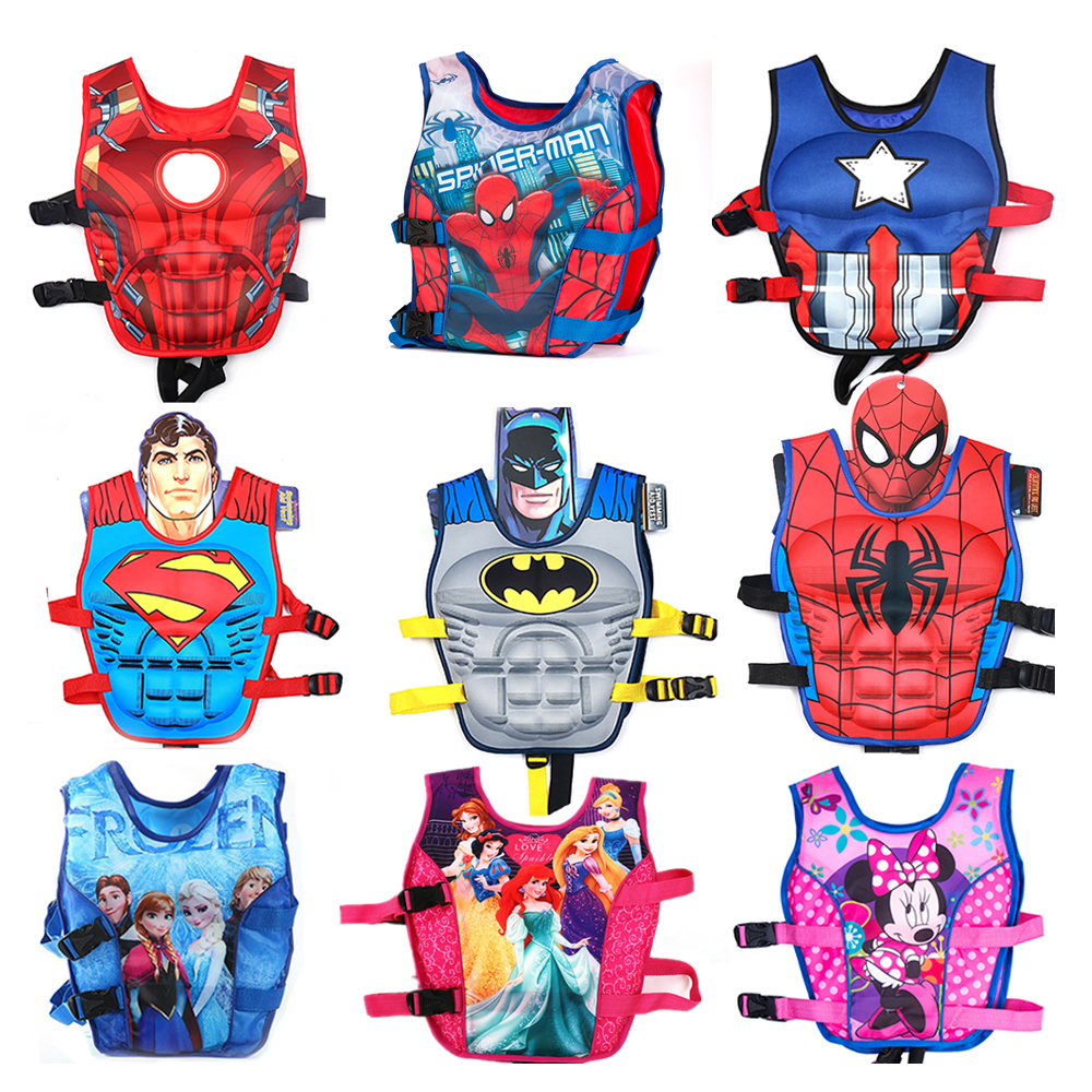 Baby Life Vest Jacket Boy Girl Child Life Vests Floating Swimsuit Sunscreen Floating Power Swimming Pool Ring Drifting Boating