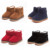 Infant toddler baby girls botas niños niño invierno botas de nieve de espesor fur shoes añadir algodón para niños botas de nieve