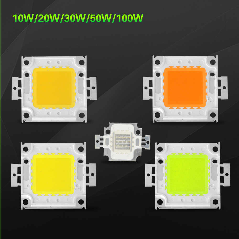 10W 20W 30W 50W 100W led lamp LED COB chip outdoor lighting High Power 24x44Mil SMD Integrated LED Bulb For Floodlight Spotlight