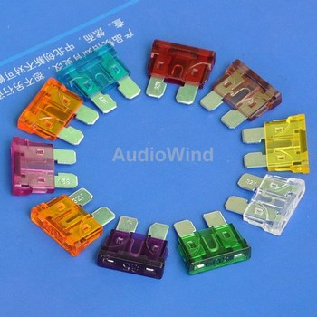 (2 pcs/lot) Car Vehicle Auto Medium Blade ATO Fuse, 3 Amp ~ 40 Amp, Automotive Fuse. image