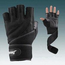 Men Body Building Brand Fitness Gloves Gyms Equipment Man Weight lifting Non-sli