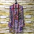 Sweet mini casual dress primavera verão feminino 2017 borboleta manga longa de impressão floral pérola ruffled high end qualidade bow dress