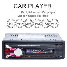 Nueva FM Radio de Coche de 12 V Bluetooth V2.0 Panel Frontal Desmontable Auto Audio Estéreo SD Reproductor de MP3 AUX USB Manos Libres Llamada 1188B radios