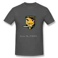 Metal Gear Solid MGS Fox Hound Mens T Shirt Fashion 2018 Cotton Camiseta De Los Hombres