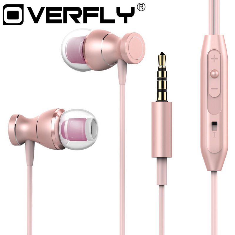 Sport Headphone 3.5mm Jack Earphone Sweatproof Stereo Strong Bass Music Magnets Headset with Mic for Samsung iPhone