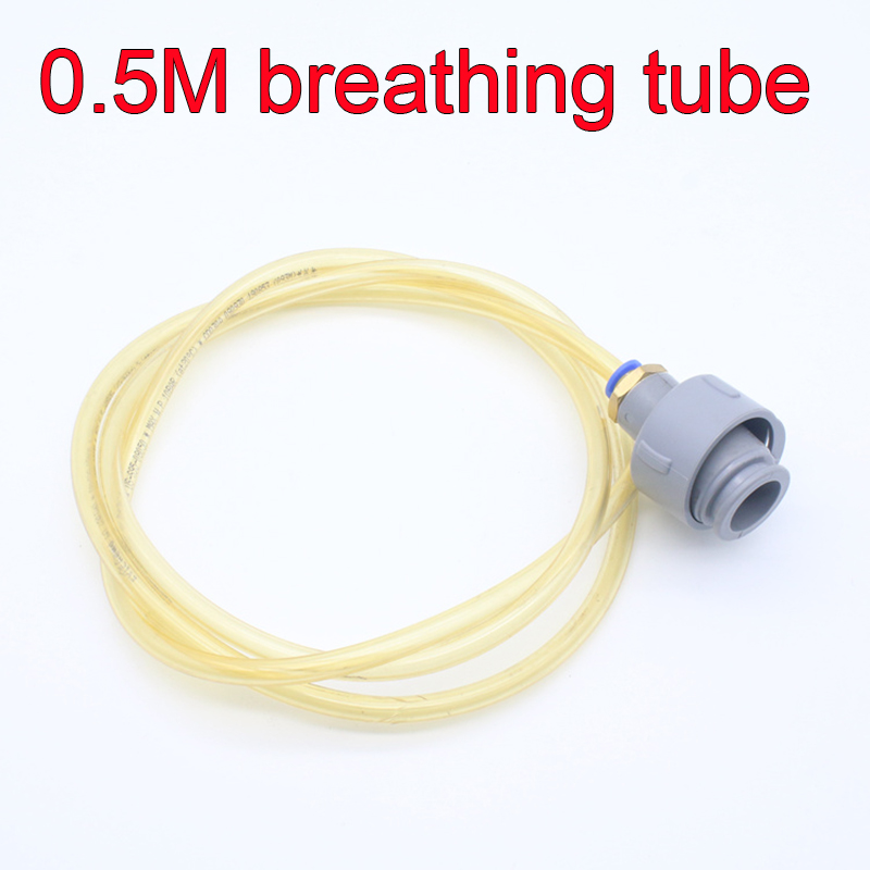 0.5 m Full protection Airway breathing tube high quality odorless Gas mask snorkel Curved freely Mask and filter air tube 2