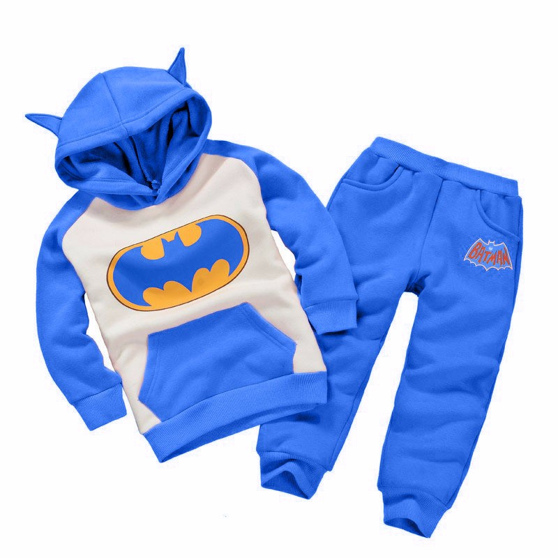 Fashion New Cartoon Lovely Kids Clothing Suit Boys Girls Hoodie Trousers  Sets Autumn Winter Boy Set Batman Children Tracksuit In Clothing Sets From  Mother ...