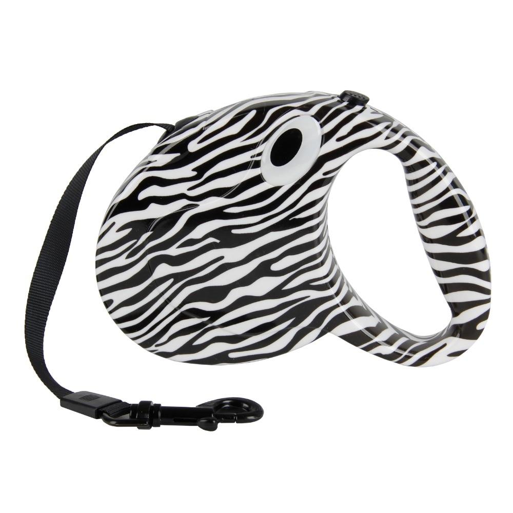 Тегін жеткізу Ит Авто бояу Сырғытпа емесБайтқа төзімді Қайталанбалы Camouflage Leopard Басып шығару Zebra-stripe Lovely Pattern 3M Long