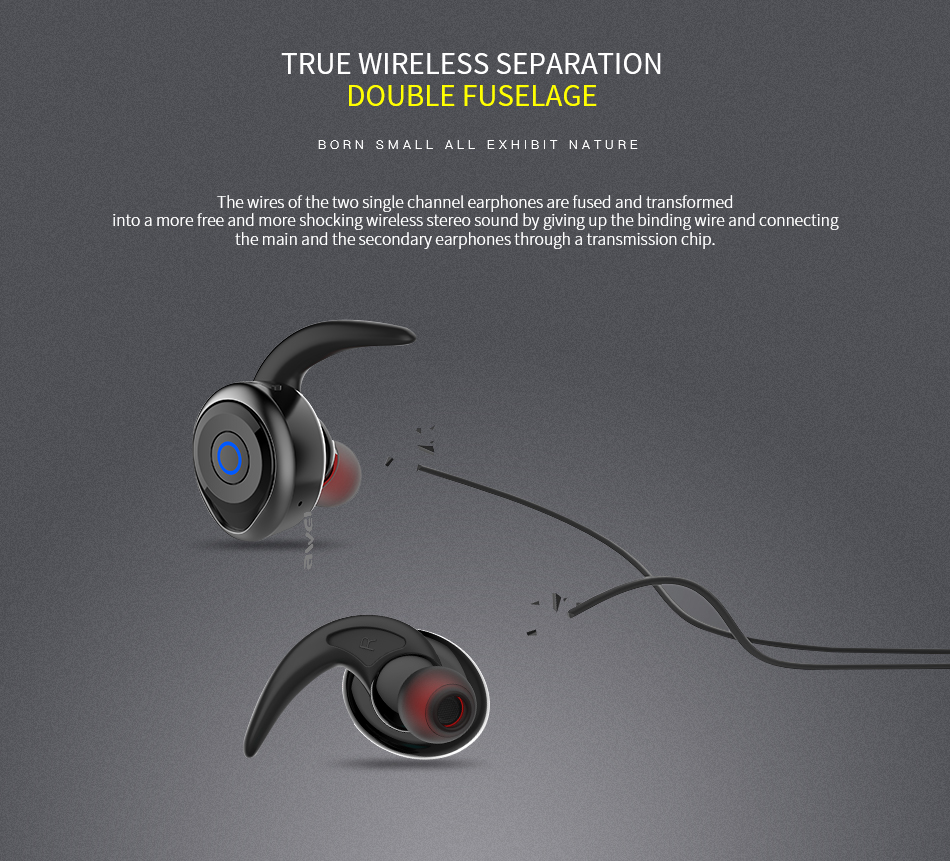Electronics - AWEI T1 TWS Bluetooth Earphone Mini Bluetooth V4.2 Headset