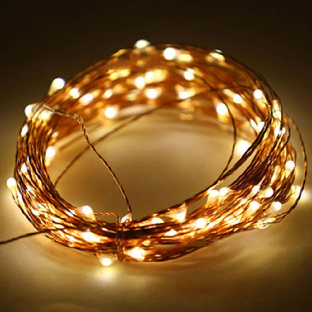 High Quanlity LED Copper Wire Fairy Xmas Wedding Festival String Lights