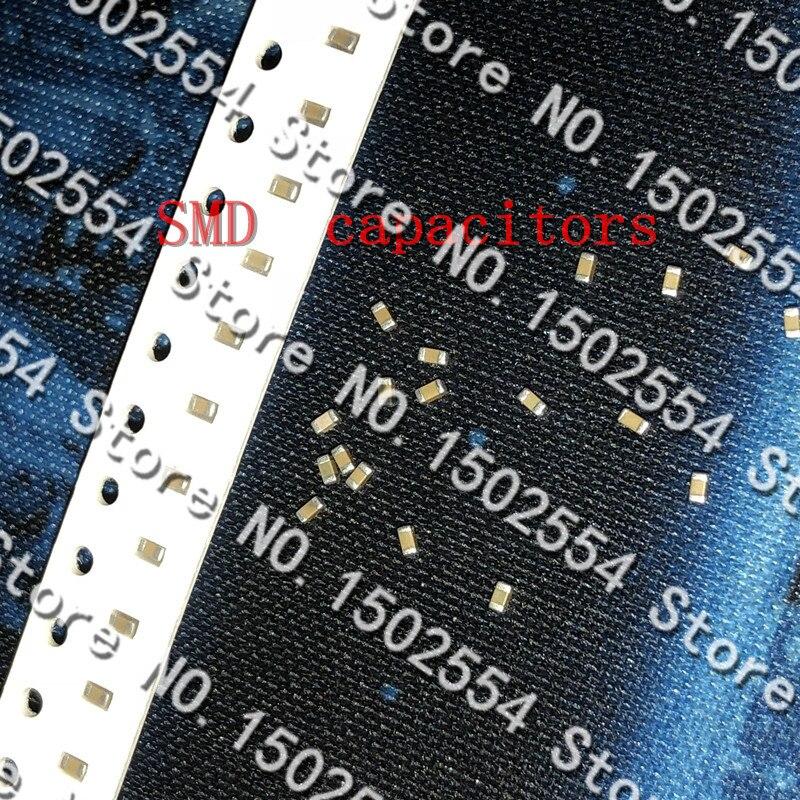 100 SMD capacitor de cerâmica 1608 0603 470PF pçs/lote 470 p 471 k 50 v X7R arquivo K 10% original de cerâmica