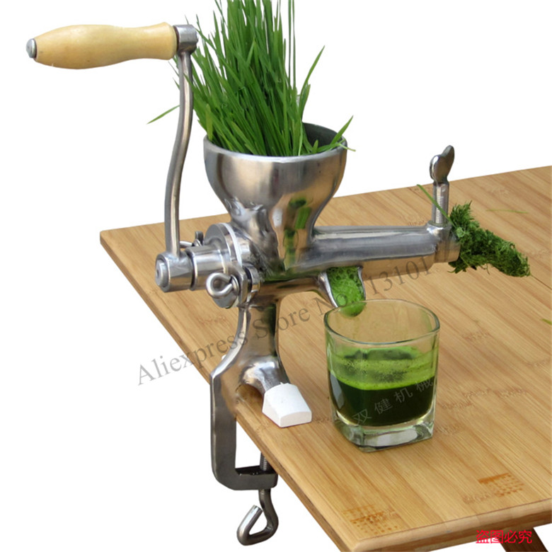 Manual Juicer Fruit Juice Extractor Stainless Steel Juice Squeezer WHEATGRASS JUICER latest manual wheatgrass juicer healthy fruit juicer machine 1 set juice extractor