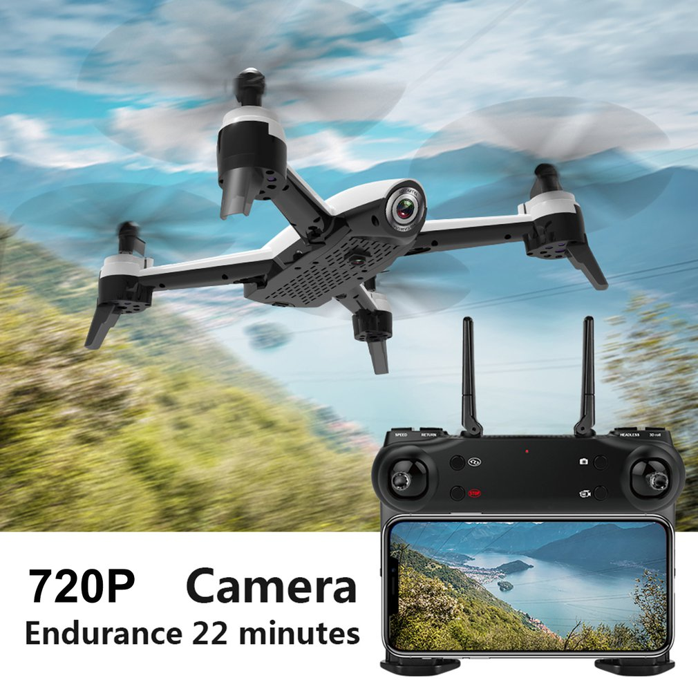 SG106 RC Dron Toy With 720P/1080P/4K HD Dual Camera FPV WiFi Real Time Aerial Video Optical Flow RC Quadcopter Drone  Kids Toy