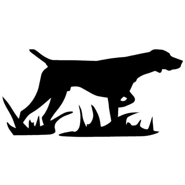 cool hunting dog car sticker styling decal bumper window laptop wall