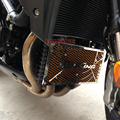 For SUZUKI GSR 750 GSR750 2011 2012 2013 2014 Motorcycle Radiator Grille Guard Cover Protector Fuel Tank Protection Net
