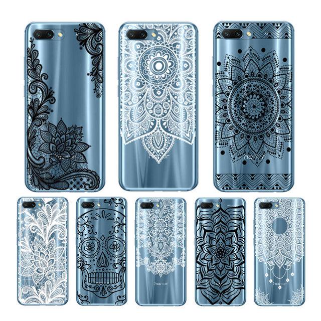 Arvin inteligente cubierta protectora del teléfono para Huawei Honor 10 Paniting funda para Huawei Honor 9 lite de silicona caso para honor 7c