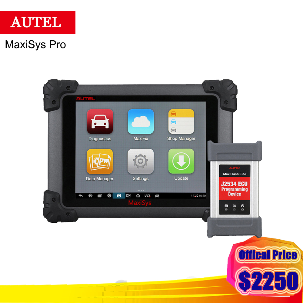 Autel MaxiSys Pro MS908P 1 Years free update ECU Programming OBD 2 Car Diagnostic Tool with J2534 (Same as like MaxiSys Elite) оборудование для диагностики авто и мото by cds update multi di g j2534 multi diag v02 actia j2534 multi diag j2534 multi diag acess