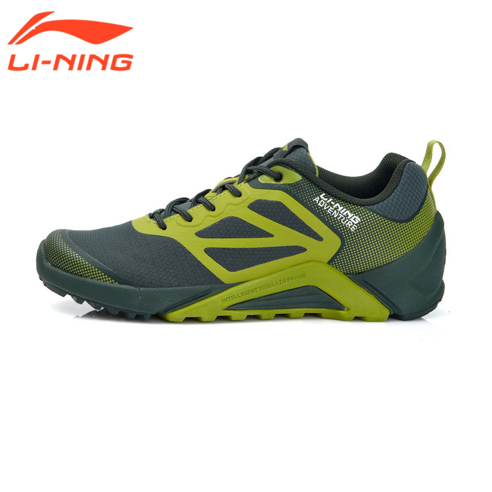 Li-Ning Men's Trail Running Shoes Cushioning Nonsewing Soft Running Sneakers Outdoor Sport Shoes LiNing AEEL003 original li ning men professional basketball shoes