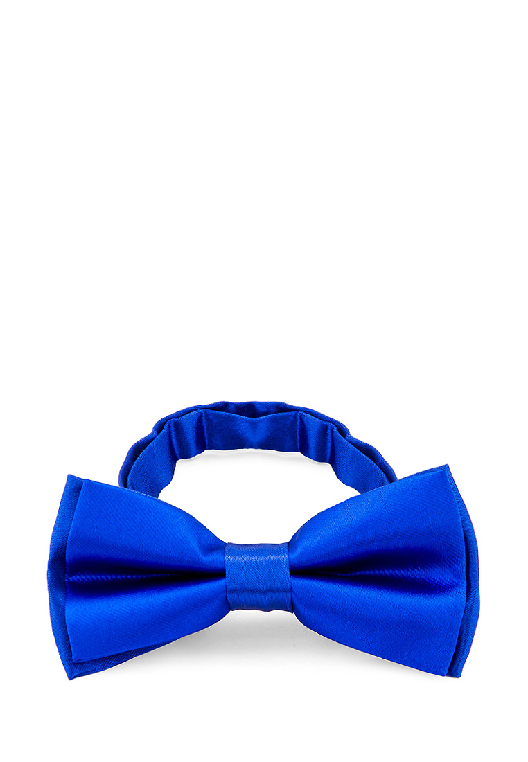 Bow tie male CASINO Casino poly electro rea 6 14 Blue bow tie pleated frill placket blouse