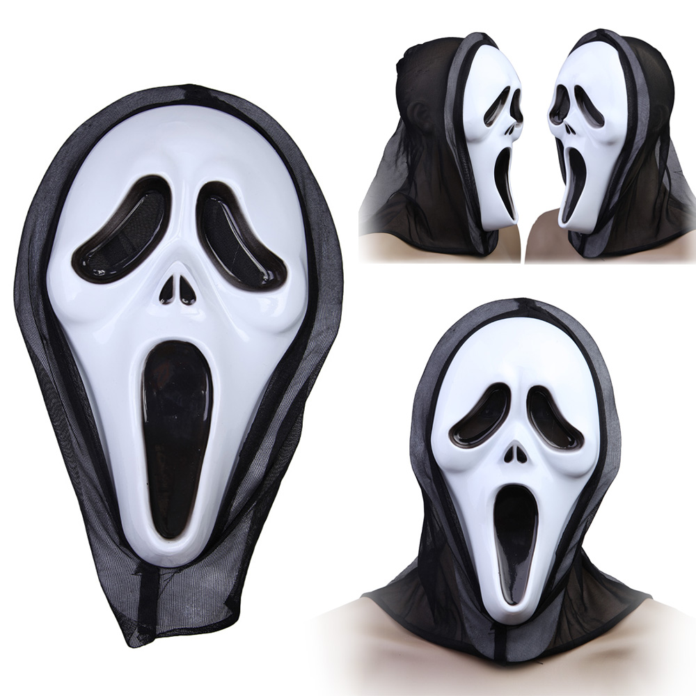 Aliexpress.com : Buy Halloween Costume Party Long Face Very Scary ...