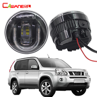 Cawanerl 2 Pieces Car Light Source LED Fog Lamp DRL Daytime Running Lamp For Nissan X