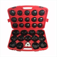 30pcs Oil Filter Cap Wrench Cup Socket Tool Set For Mercedes BMW VW Audi Volvo Ford