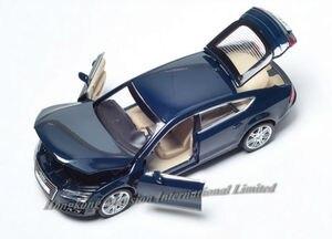 Image 4 - 1:32 ölçekli Audi A7 Sportback lüks lisanslı Diecast Metal alaşım koleksiyon toplama araba modeli ses ve ışık oyuncak araç