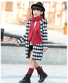 Size110~160 Kids Child spring autumn Clothing Children Windbreaker for Girls Outerwear Children's Hooded Jackets Coats 4colors