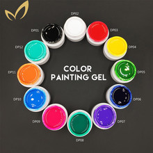 Healthy Painting Gel White Paint French LED/UV Gel For