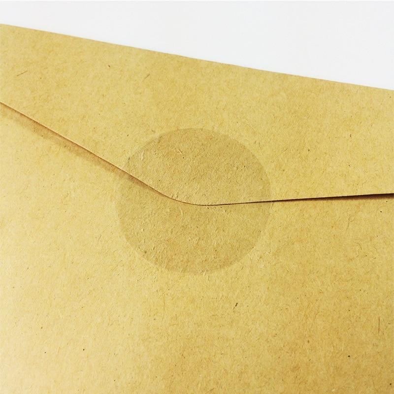 Купить с кэшбэком 240PCS/Lot  Transparent Round DIY Multifunction Sticker for Gift Packing/Cute 40MM diameter Round Clear Gift seal sticker