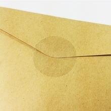 240 шт/лот Прозрачная Круглая многофункциональная наклейка «сделай
