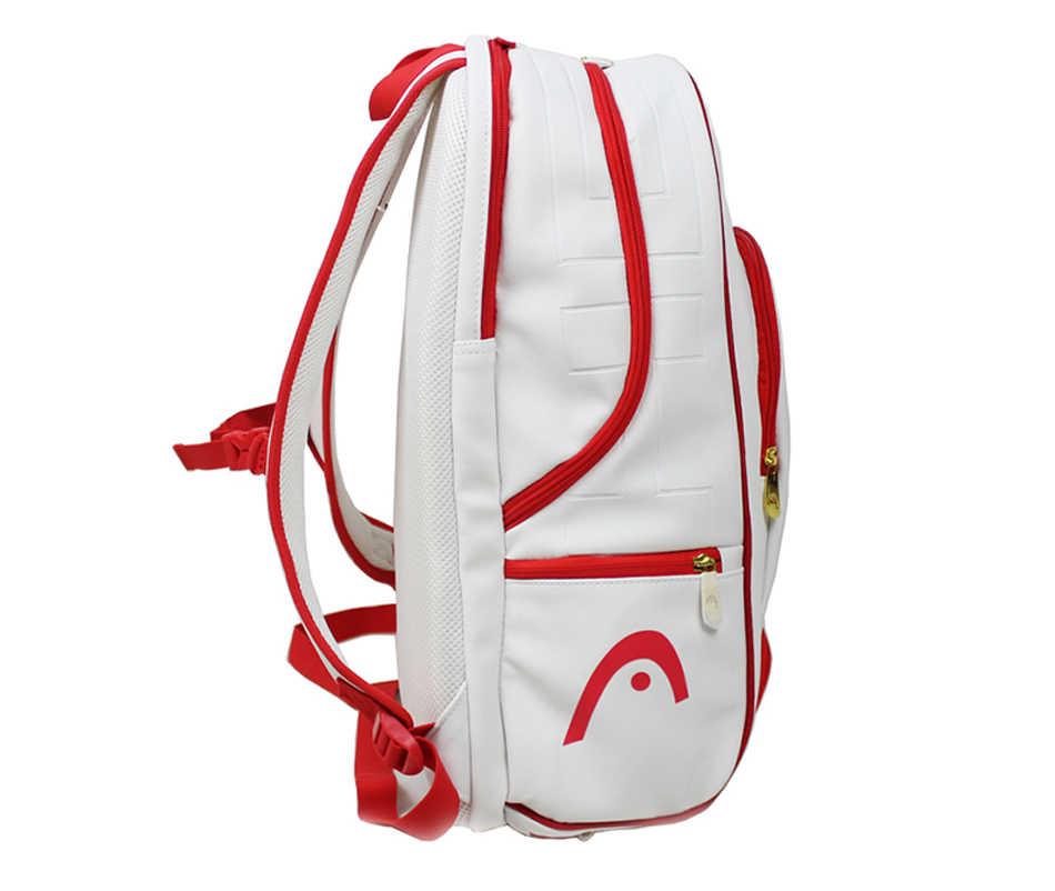 Голова Теннис сумка Теннис ракетки мешок raquete де Tenis резервного копирования Бадминтон сумка Рождество сувенир Теннис рюкзак