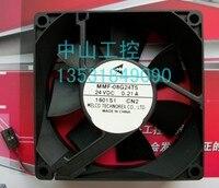 NOVA MELCO PARA Yaskawa Servo MMF-08G24TS-CN2 0.21A ventilador de refrigeração